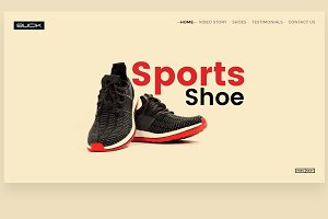 Bucik Shoes Web template