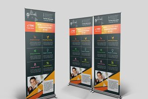 Educational Roll-Up Banner