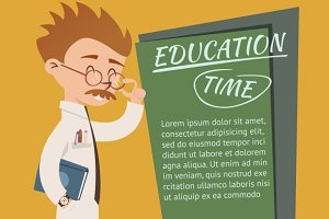 Education Time Posters