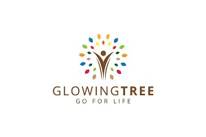 Glowing Tree Logo