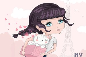 Cute Girl/Cartoon Character