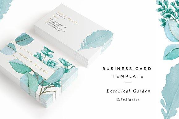 botanical garden i business card business cards - Garden Design Business Cards