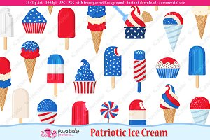 Patriotic Ice Cream
