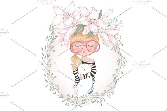 Cute Girl/Cartoon Character