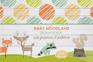 Baby Woodland Design Pack