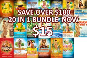 Summer | Tropical | Beach XXL Bundle