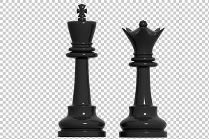 Chess Pawn - 3D Render PNG