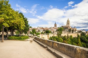 Segovia cathedral, Spain.