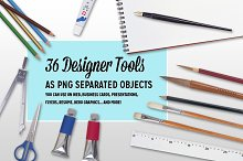36 Designer Tools as separate object