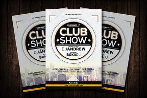 Club Show Flyer Template