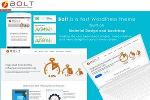 Bolt - Fast WordPress Theme