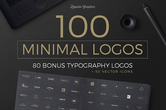 1300 Logos Ultimate Bundle Logo Templates Creative Market