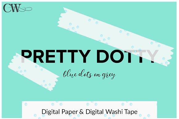 Digital Paper And Digital Washi Tape