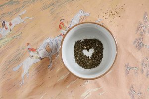 Tea Time with Notes of Love