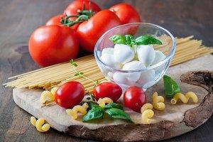 Italian mozzarella or bocconcini