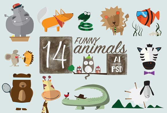 14 Animals
