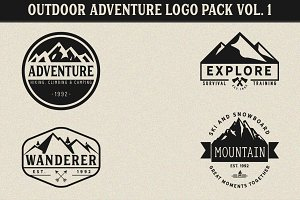Outdoor Adventure Logos Vol. 1
