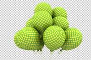 Pattern Balloon - 3D Render PNG