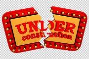 Under Construction - 3D Render PNG