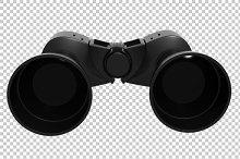 Binoculars - 3D Render PNG