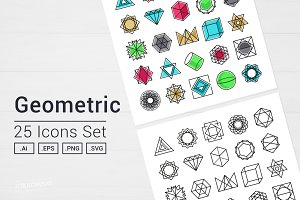 Geometric Icons Set
