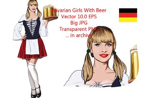 Sexy Bavarian girl