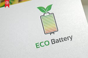 Eco Battery / Energy - Logo Template