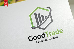 Good Trade / Chart - Logo Template