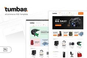 Tumbas - Electronic eCommerce PSD