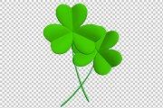 Clover Leaf - 3D Render PNG