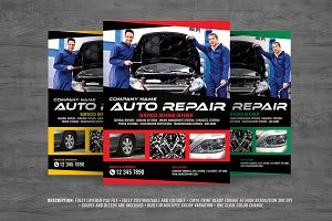Car Repair Flyer
