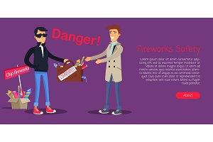 Fireworks Safety, Man Buying Counterfeit Elements