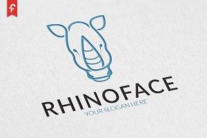 Rhino Face Logo