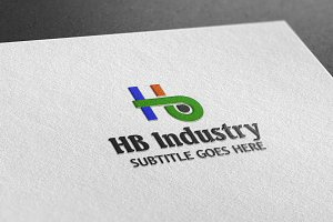 HB Industry Style Logo