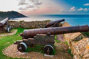 Cannons of Ribadesella