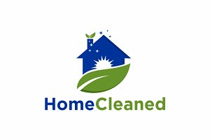 Home Cleaned | logo Template