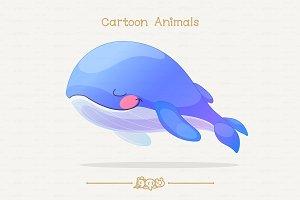 ♥ vector sleep whale