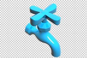 TAP - 3D Render PNG