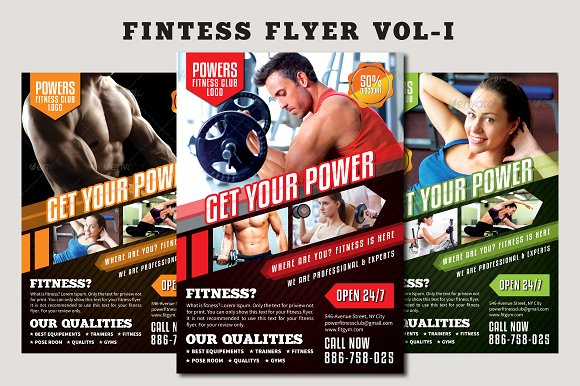 Fitness Flyer Vol-1