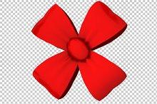 Decorative Bow - 3D Render PNG