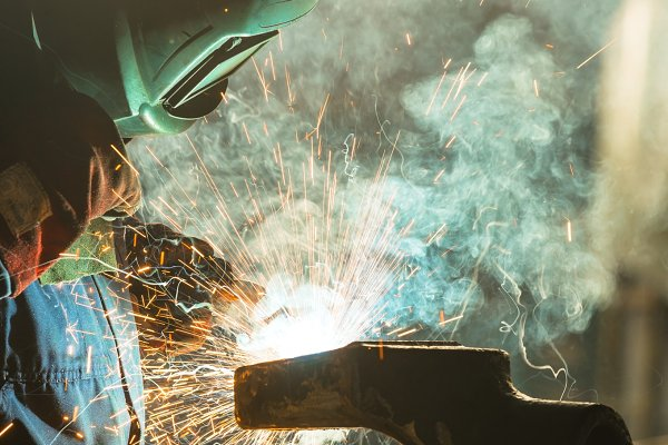 Industrial Stock Photos - Industrial Worker at the factory