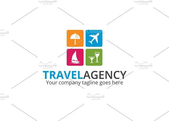 Travel Agency Logo Templates Creative Market