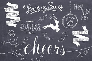 Christmas Overlays Set 3 - Vector