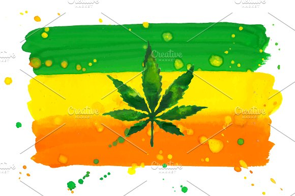Weed. Stoner gadgets & accessories ~ Illustrations ~ Creative Market