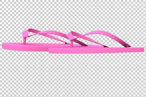 Flip Flop - 3D Render PNG