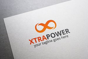 Xtra Power Letter X Logo
