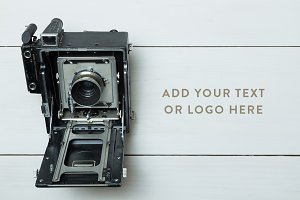 Vintage Camera Photo Mockup Bundle