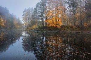 Lake autumn Mitter