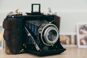 Vintage WW2 Era Camera
