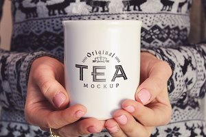 Cup of Tea Mock-up#8
